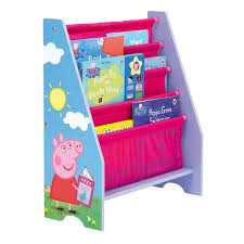 Peppa Pig Bedroom Furniture Peppa Pig Sling Bookcase Next Day Delivery Peppa Pig Sling