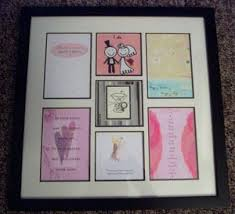 Wedding Card Collage Display Wedding Cards In A Photo Collage Frame Thriftyfun