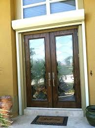 door glass inserts doors with custom decorative radiance circle design interior pocket exterior blinds