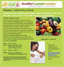 focus group flyers focus group info healthy capital counties