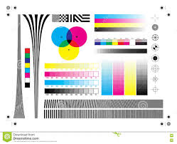 Calibration Printing Marks Stock Vector Image Of Graphics 81596155