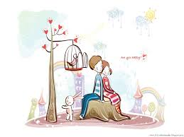 cute anime couples hd cartoon love wallpapers