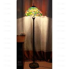 stained glass shade tiffany floor lamps loading zoom