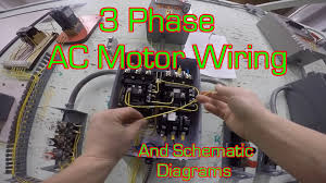 3 phase magnetic motor starter and wire diagram youtube 230 3 Phase Motor Wiring 230 3 Phase Motor Wiring #19 230 volt 3 phase motor wiring