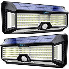 led solar motion sensor lights outdoor