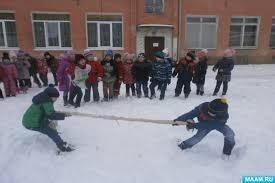 Физическое воспитание дошкольников Спорт Воспитателям детских  Конспект спортивного развлечения Зимние забавы