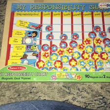 my responsibility chart melissa doug my responsibility chart nwt
