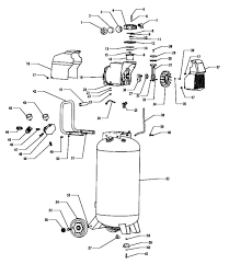 Kobalt f226vwlvp 37296 air pressor parts rh mastertoolrepair air pressor schematic diagram air pressor installation