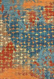 orange blue area rug brilliant orange and blue area rug throughout with ideas 6 ameesha blue orange blue area rug