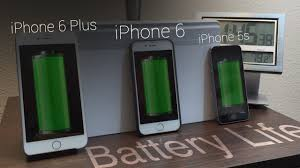 iphone 6 battery size battery life iphone 6 vs iphone 6 plus vs iphone 5s youtube