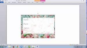 Cara Membuat Stiker Pengiriman Olshop How To Make Sending Label With Word Youtube