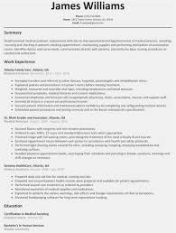 College Student Resume Professional Template Resume Medical