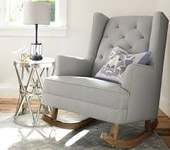 stylish nursery furniture. modern tufted wingback rocker stylish nursery furniture t