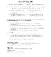 Restaurant Duties Resume Customer Service Job Description For Resume