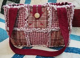 107 best Rag Quilts images on Pinterest | Projects, Candles and ... & Rag Quilt Purse Tote Diaper Bag Instructions Pattern How To Adamdwight.com