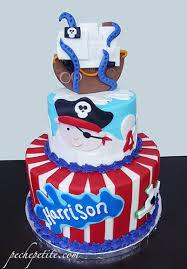 Ocean Themed Cakes Peche Petite