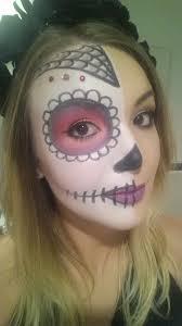 images to sugar skull makeup half face you mugeek vidalondon