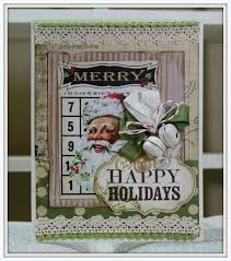 Bell S Trim And Design Shabby Vintage Inspired Christmas Card With Jingle Bells