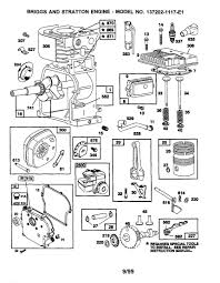 Briggs stratton engine parts and diagrams 2