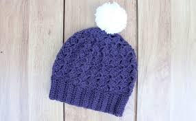 Free Crochet Hat Pattern Unique Free Crochet Berry Hat Pattern Textured Stitch And Ribbed Brim