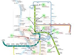 Image result for skytrain bangkok map