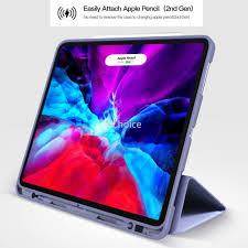 Ốp máy tính bảng có ngăn đựng bút cảm ứng + giá đỡ cho iPad Pro 11 12.9  Inch 2020 2018 iPad 10.2 9.7 2018 2017 Air 10.5 Pro 10.5 giá cạnh tranh