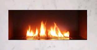 Linear Burner 4u0027 Open From Spark Modern FiresSpark Fireplace