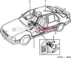 Esaabparts saab 9000 > electrical parts > wiring harness > partment also valid for se 1988b