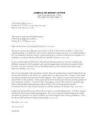 Letter Of Intent Sample Format For Job Granitestateartsmarket Com