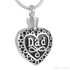 whole ijd8374 unique design snless steel cremation jewelry memory for dad with beautiful necklace keep love one close to your heart diamond pendants