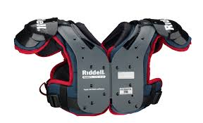 Riddell Shoulder Pad Size Chart Riddell Pursuit Youth Shoulder Pad