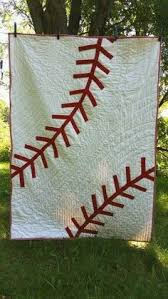 STEP BY STEP THIS ONE IS!!!!Quilt Tutorial free on Matt and Sheri ... & Whole cloth appliqué baseball quilt.: Adamdwight.com