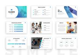 presentations ppt clean powerpoint template presentation templates on slideforest