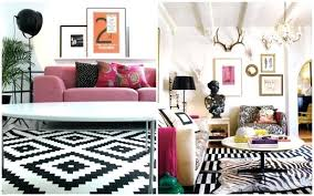 ikea black and white rug black and white rugs from via grey likes nesting ikea black