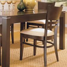 cushioned dining room chairs. Beautiful Chairs Venice Espresso Cushioned Dining Chair Set Of 2 By INSPIRE Q Classic With Room Chairs C