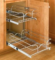 kitchen cabinet roll out shelves two tier cabinet organizer extra small kitchen cabinet roll out shelf hardware