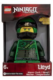 Kaufe LEGO Watch - Ninjago - Lloyd Minifigure - Clock (9009198)