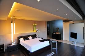 Gorgeous Modern Mansion Trends And Attractive Master Bedroom With Tv