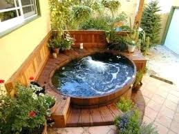 outdoor jacuzzi ideas outdoor tub relaxing and dreamy hot tubs enclosure ideas modern outdoor jacuzzi designs