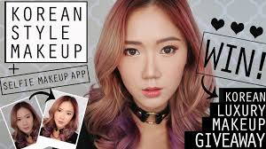 vlog korean style makeup tutorial k beauty makeup giveaway from seoul