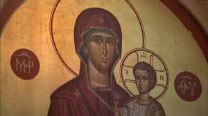 Holy Trinity worshippers flock to <b>mysterious</b> crying Virgin Mary icon ...
