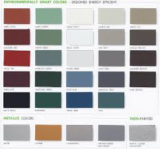 Metal Siding Color Chart Aluminum Siding Color Chart Www Bedowntowndaytona Com