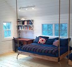 View in gallery Eclectic attic bedrooms with Nordic design for hanging beds