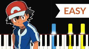 Pokemon XYZ Theme Song (EASY Piano Tutorial) - YouTube