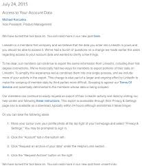 News Analysis Inside The Rationale Behind Linkedin Turning Off