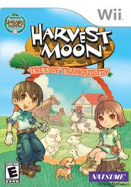 Harvest moon tree of tranquility girl