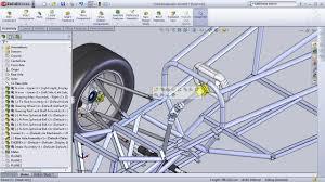 Fsae Chassis Design Report Solidworks Formula Sae Design Project