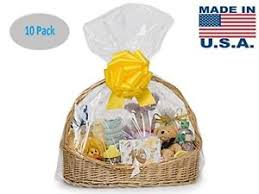 image is loading clear cellophane bags basket bags cello gift bags