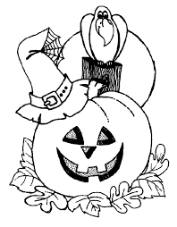 Halloween Coloring Pages For Preschoolers Free