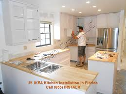 Of An Ikea Kitchen Ikea Kitchen Cabinet Installation Gallery 36